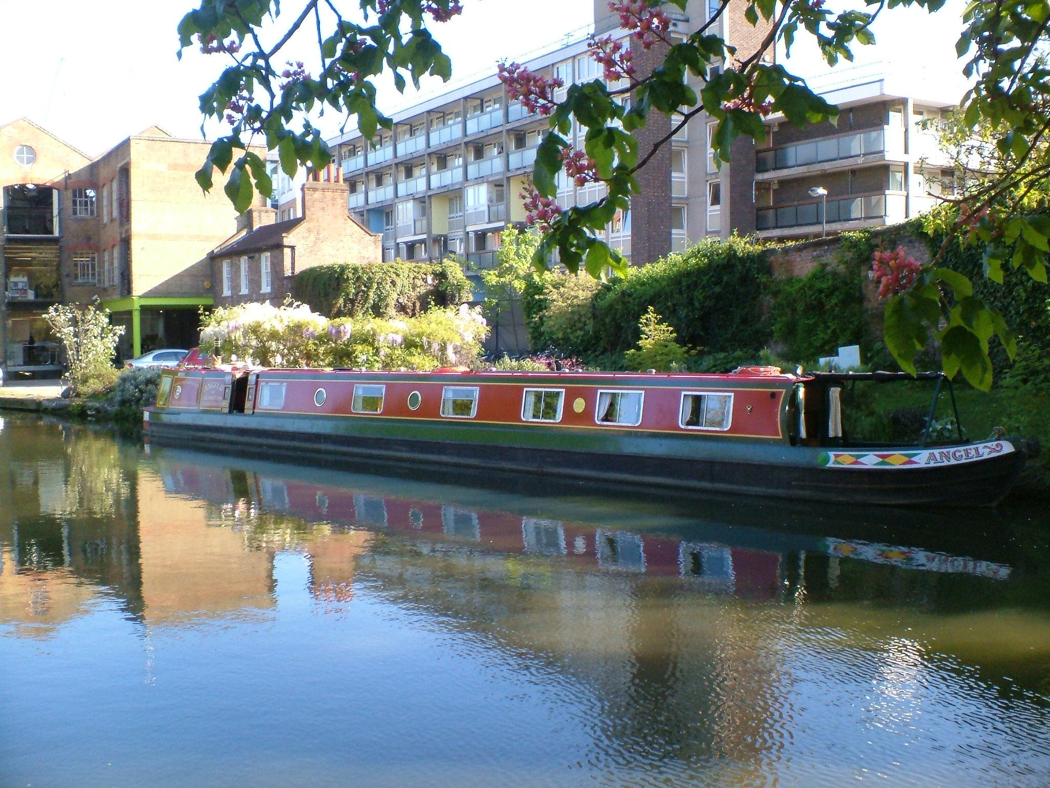 Image credit: Angel Community Canal Boat Trust