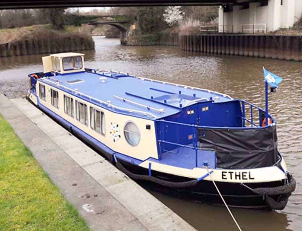 Skipper Training at the Ethel Trust – Towpath Talk, May 2017
